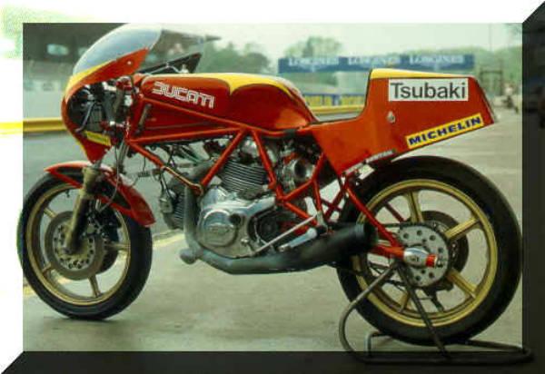 Ducati 750 F1, Montjuich, Laguna Seca og Santa Monica